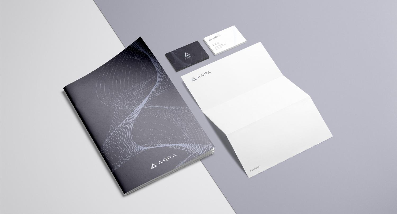 arpa-stationary-visual-identity